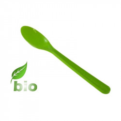 Cuchara Biodegradable Verde PP BIO 16 cm 100/1000