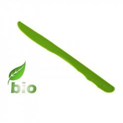 Cuchillo Biodegradable Verde PP BIO 16 cm 100/1000