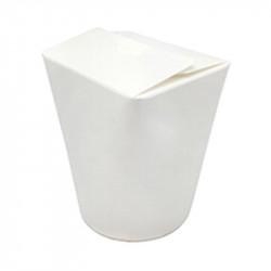 Envase Multifood Alto Blanco 1000 cc. 25/500
