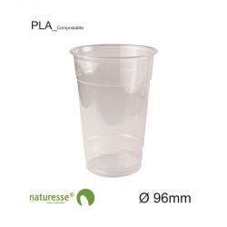 Vaso PLA - Transparente - Ø 96mm