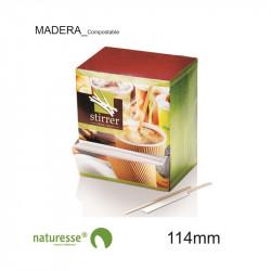 Agitador - Individual - Madera - 114mm