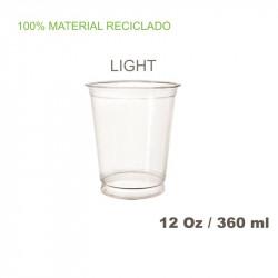Vaso PET 425 c.c.-12oz,- LIGHT 8,5gr. 50/800