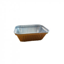 250160 Env Rect Alum 110x80x33 - 160 ml - 1.300