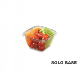 Base envase cuadrado transparente 500 cc