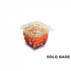 Base envase cuadrado transparente 750 CC