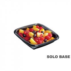Base envase cuadrado negra 370 cc