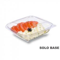 Base envase cuadrado transparente 1000 cc