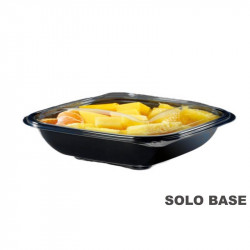 Base envase cuadrado negra 1000 cc