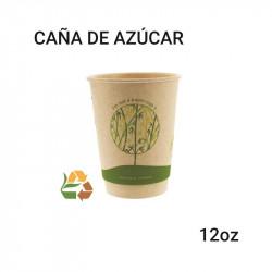 Vaso caña de azúcar - compostable -12oz
