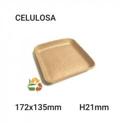 Bandeja kraft - 172x135mm - H21mm