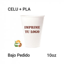 Vaso Papel PLA - 10Oz - 235ml