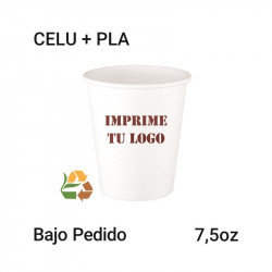Vaso Papel PLA - 7,5Oz - 220ml