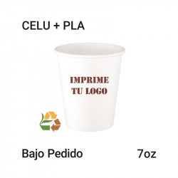 Vaso Papel PLA - 7Oz - 192ml
