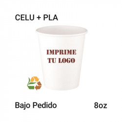 Vaso Papel PLA - 8Oz - 235ml