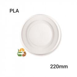 Plato llano PLA - 220mm