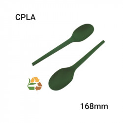 Cuchara Verde CPLA - Compostable