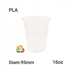Vaso PLA Compostable - 16oz