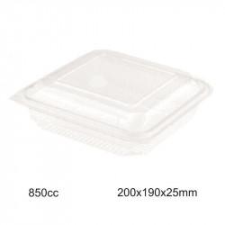 Envase Bisagra PET - 850cc - 50 - 200