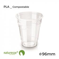 Vaso PLA - Transparente - 3dl - Ø 96mm