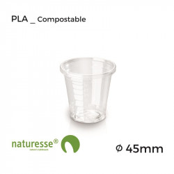 Vaso PLA - Transparente - 0.3dl