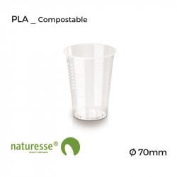Vaso Vending - PLA - Transparente - Ø 70mm