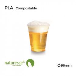 Vaso Cerveza - PLA - Transparente - Ø 96mm
