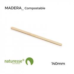 Agitador - Individual - Madera - 140mm