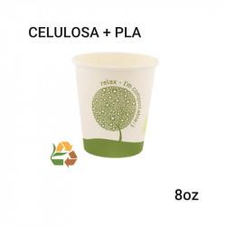 Vaso café biodegradabale -compostable - 8oz