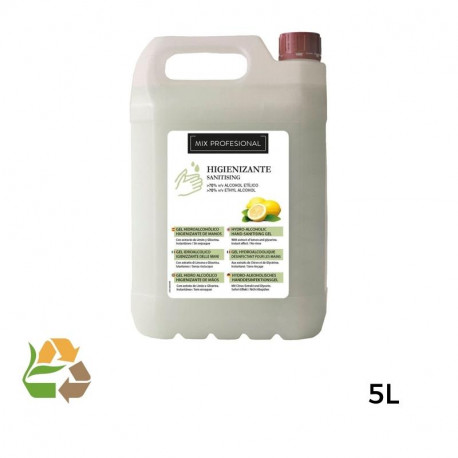 Gel Higienizante Manos - 5.000ml - 2uds