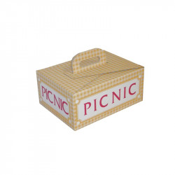 Caja Picnic Automontable 282x208x125mm.