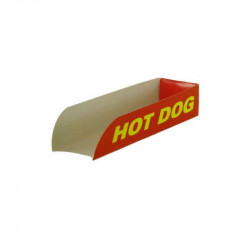 Paleta Hot-Dog decorada PAPEL175x50x35mm. /2500