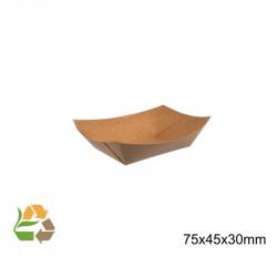 Barqueta PAPEL KRAFT 120x85x20mmm./120ml. /1000
