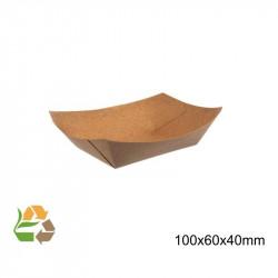 Barqueta PAPEL KRAFT 160x120x25mm./300ml. /1000