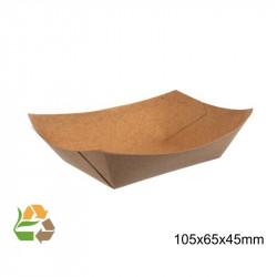 Barqueta PAPEL KRAFT 170x125x26mm./400ml. /1000