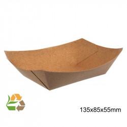 Barqueta PAPEL KRAFT 215x150x40mm./800ml. /500