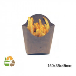 Petaca Chips Grande KRAFT 140x55x135mm. /1000