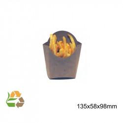 Petaca Chips Mediana KRAFT 135x58x98mm. /1000