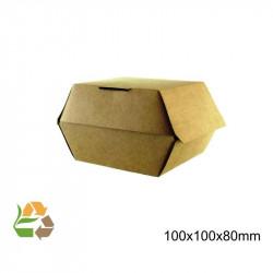 Caja Hamburguesa Pequeña KRAFT eco /500