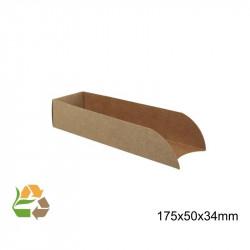 Pala Hot-Dog KRAFT Desmontable 175x50x34mm. /1000