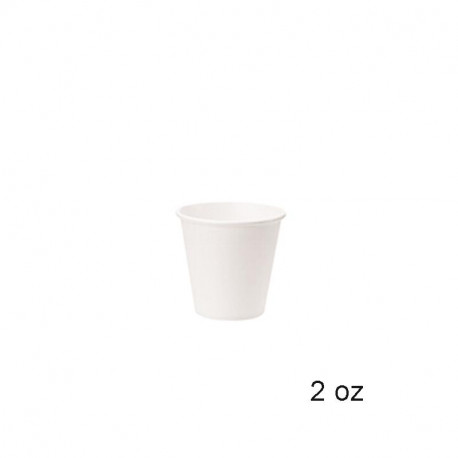 Vaso Papel 2.5Oz./ ml. BLANCO 50/1000