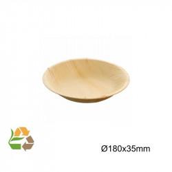 Bowl Hoja de Palma 350ml - Diam:18 - 3.5 cm - 100