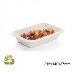 Bandeja Rectangular - 650ml - 205x130x56mm
