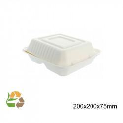 Envase Comida Tapa Plegable - Extra Grande - 3Com