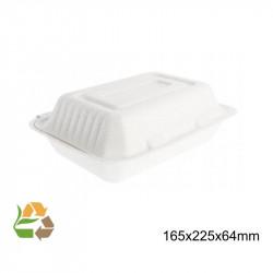 Envase Comida Tapa Plegable - Mediano
