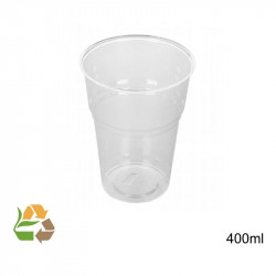 Vaso PLA - Transparente - 4dl - Ø 96mm
