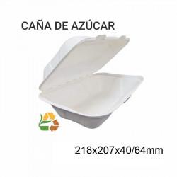 Envase Portamenú BIO - 238x235x54/76mm