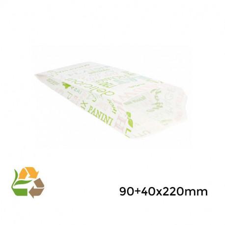 """Bolsa sandwich """"Parole""""- 9+4x22cm - 3000"""