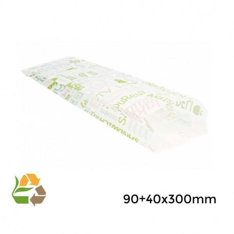 """Bolsa sandwich """"Parole""""- 9+4x30cm - 3000"""