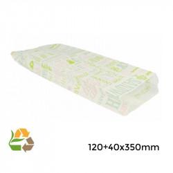 """Bolsa sandwich """"Parole""""- 12+4x35cm - 3000"""