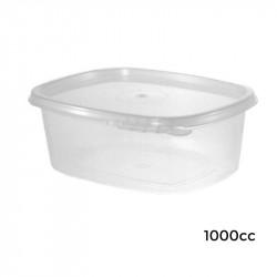 6V01000/T Envase Bisagra Ov.Seg. PP-1000 cc-276